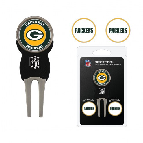 Green Bay Packers Golf Divot Tool Pack
