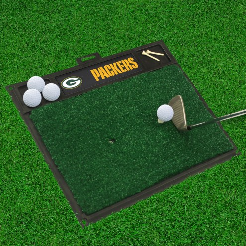 Green Bay Packers Golf Hitting Mat