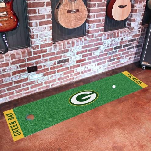 Green Bay Packers Golf Putting Green Mat