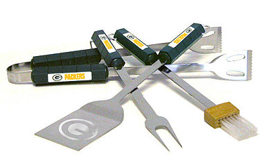 Green Bay Packers Grill Tool Set