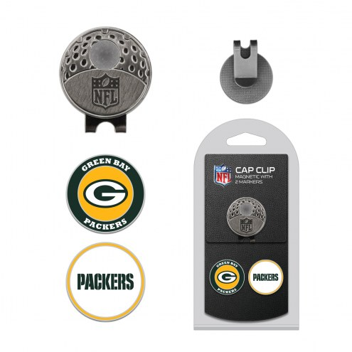Green Bay Packers Hat Clip & Marker Set