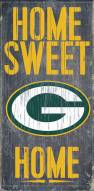 Green Bay Packers Home Sweet Home Wood Sign