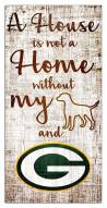 Green Bay Packers House is Not a Home Sign