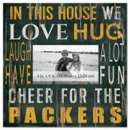 """Green Bay Packers In This House 10"""" x 10"""" Picture Frame"""