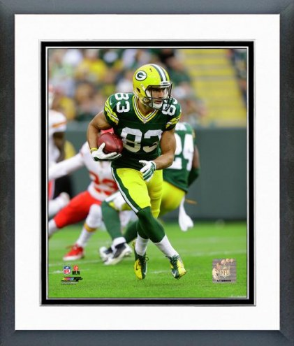 Green Bay Packers Jeff Janis Action Framed Photo