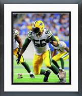 Green Bay Packers Julius Peppers Action Framed Photo