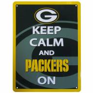 Green Bay Packers Keep Calm Sign