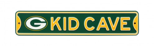 Green Bay Packers Kid Cave Street Sign