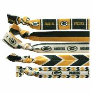 Green Bay Packers Knotted Hair Tie