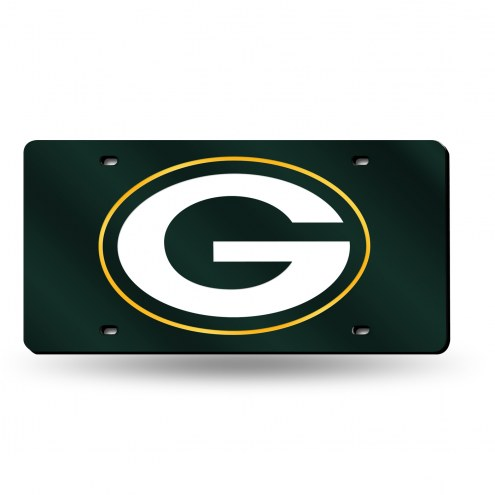 Green Bay Packers Laser Cut License Plate