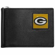 Green Bay Packers Leather Bill Clip Wallet