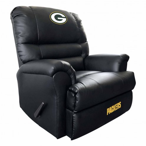 Green Bay Packers Leather Sports Recliner