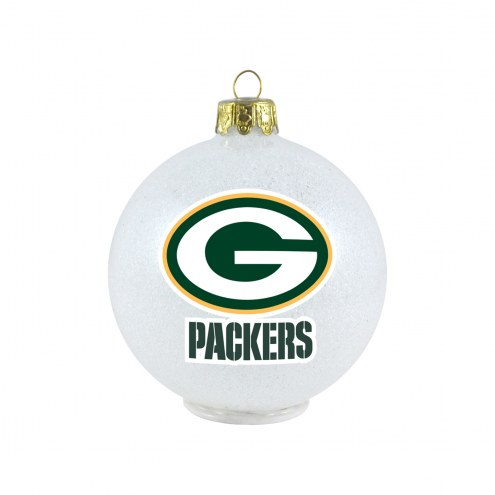 Green Bay Packers LED Color Changing Ball Ornament