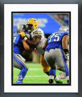 Green Bay Packers Letroy Guion Action Framed Photo