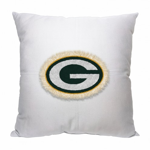 Green Bay Packers Letterman Pillow