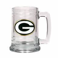 Green Bay Packers Logo Glass Tankard - Set of 2
