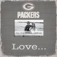Green Bay Packers Love Picture Frame