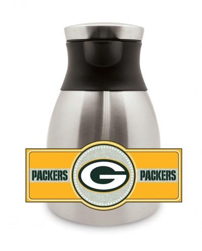 Green Bay Packers Medium Stainless Steel Coffee Pot