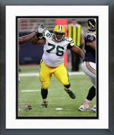 Green Bay Packers Mike Daniels Action Framed Photo