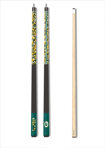Green Bay Packers Modern Cue Stick
