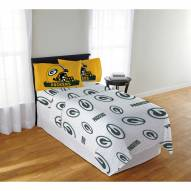 Green Bay Packers Monument Full Bed Sheets