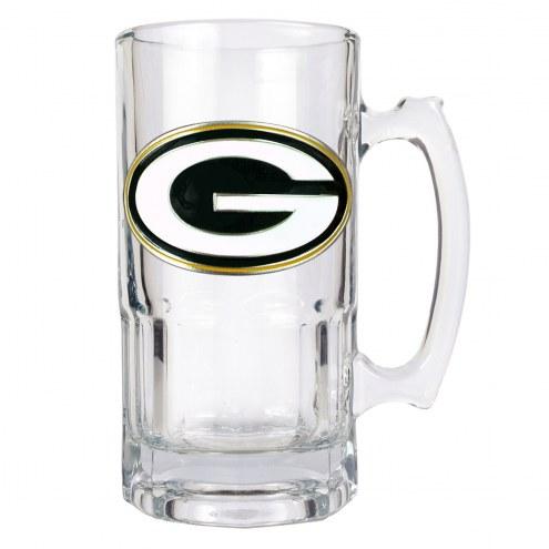 Green Bay Packers NFL 1 Liter Glass Macho Mug