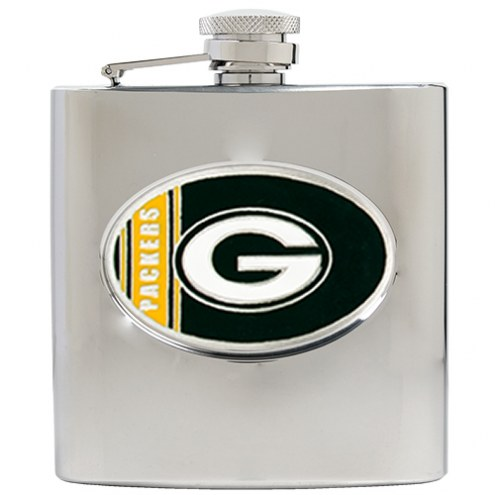 Green Bay Packers NFL 6 Oz. Stainless Steel Hip Flask