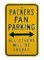 Green Bay Packers NFL Authentic Parking Sign