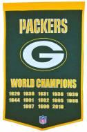Winning Streak Green Bay Packers NFL Dynasty Banner