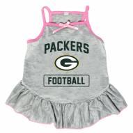 Green Bay Packers NFL Gray Dog Dress