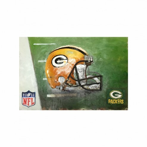 Green Bay Packers NFL Metal Wall Art
