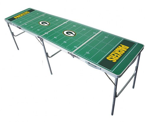 Green Bay Packers NFL Tailgate Table
