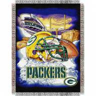Green Bay Packers NFL Woven Tapestry Throw