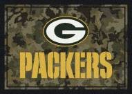 Green Bay Packers NFL Team Camo Area Rug