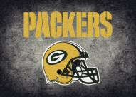 Green Bay Packers NFL Team Distressed Area Rug