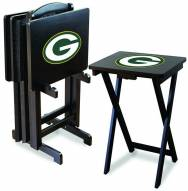 Green Bay Packers NFL TV Trays - Set of 4