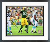 Green Bay Packers Nick Perry Action Framed Photo
