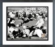 Green Bay Packers Paul Hornung 1960 Action Framed Photo