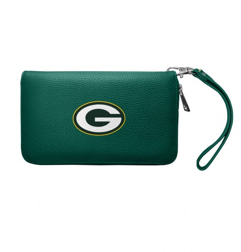 Green Bay Packers Pebble Organizer Wallet