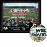 Green Bay Packers 11 x 14 Personalized Framed Stadium Print