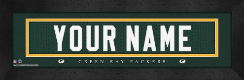 Green Bay Packers Personalized Stitched Jersey Print