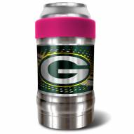 Green Bay Packers Pink 12 oz. Locker Vacuum Insulated Can Holder