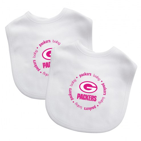 Green Bay Packers 2-Pack Baby Bibs