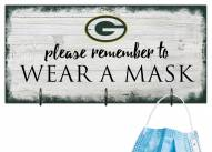Green Bay Packers Please Wear Your Mask Sign