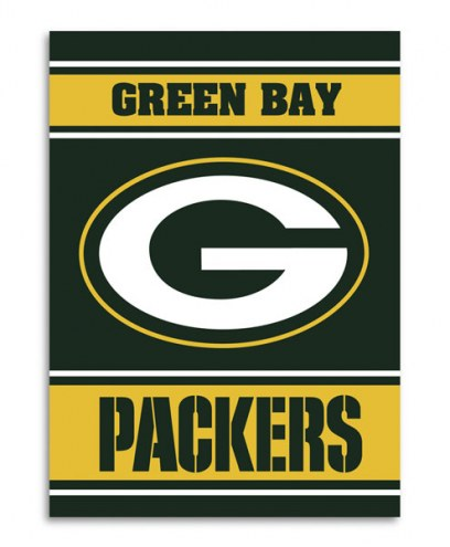 Green Bay Packers NFL Premium 2-Sided House Flag