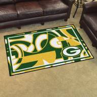 Green Bay Packers Quicksnap 4' x 6' Area Rug
