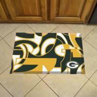 Green Bay Packers Quicksnap Scraper Door Mat