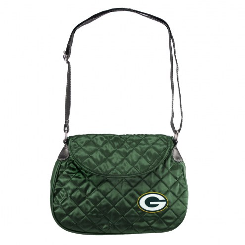 Green Bay Packers Quilted Saddle Bag