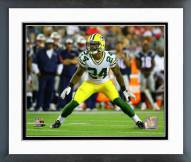 Green Bay Packers Quinten Rollins Action Framed Photo