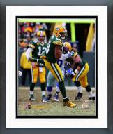 Green Bay Packers Randall Cobb Playoff Action Framed Photo